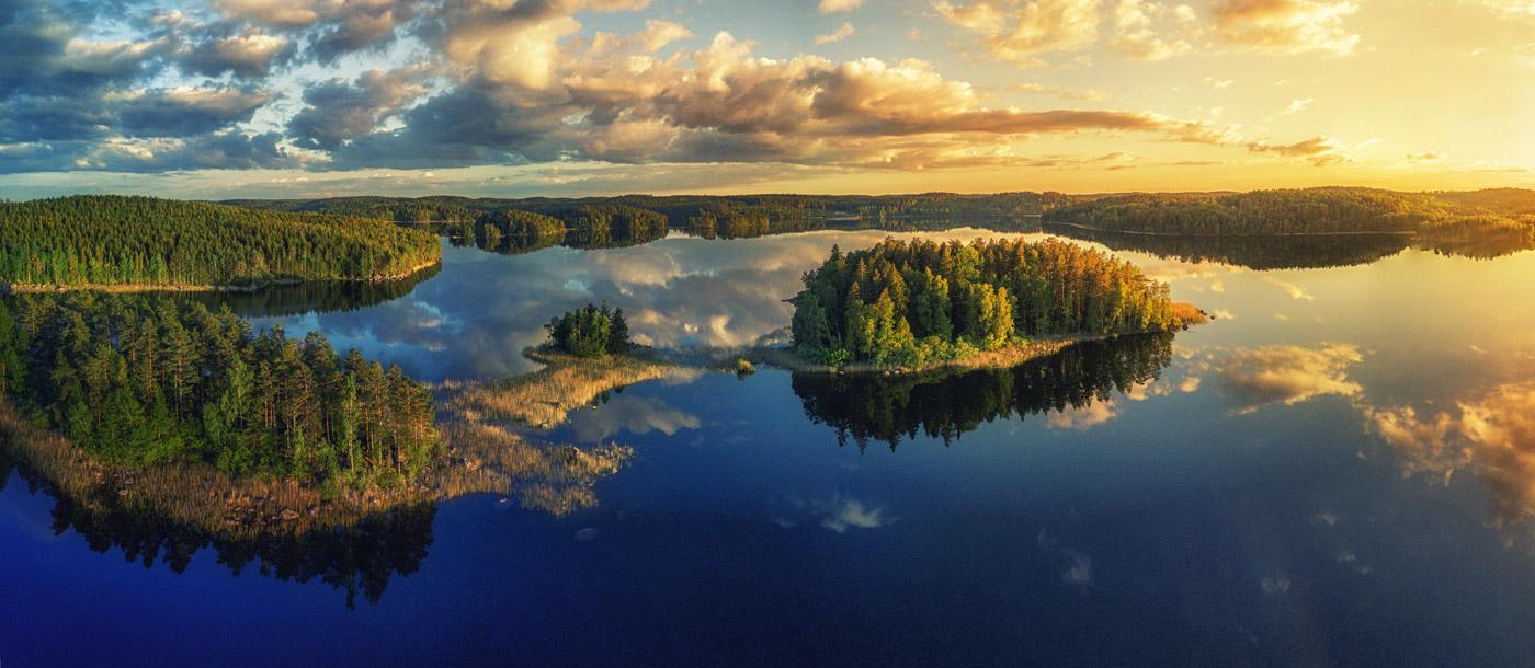 Seelandschaft Schweden