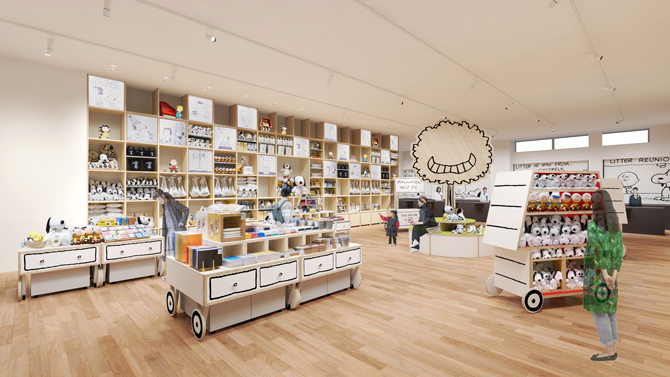 Der Browns-Store Snoopy Museum Tokyo