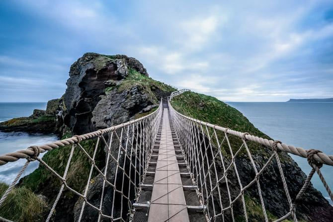 Carrick a Rede Brücke in Nordirland