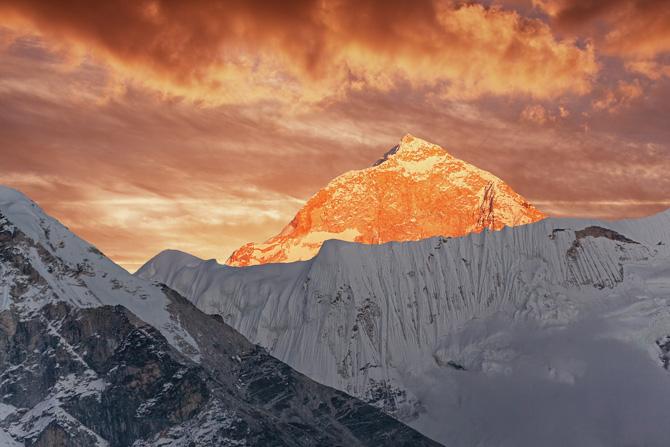 Der Berg Makalu