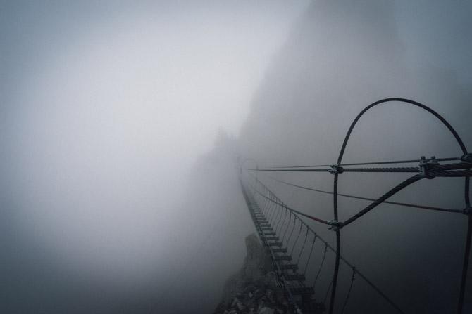 Monte Nimbus via Ferrata in Kanada