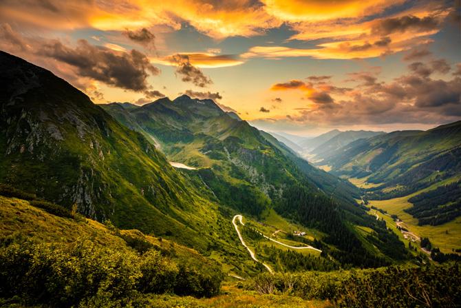 Sölkpass Österreich