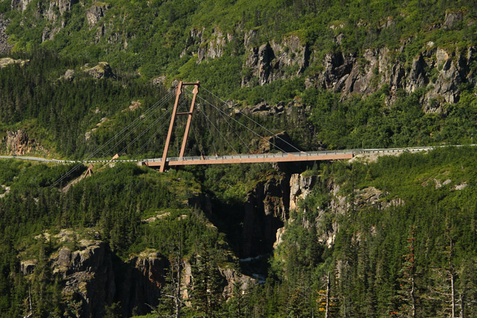 William Moore Brücke in Alaska