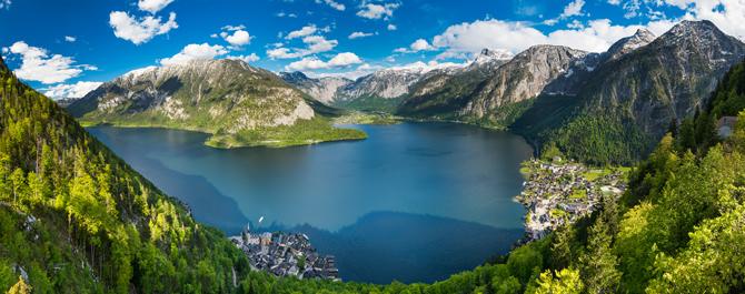 Seepanorama Österreich