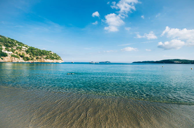 Cala Sant Vicent Ibiza