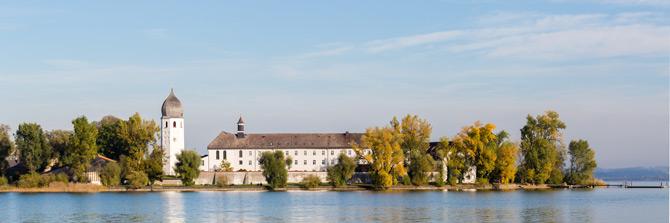 Fraueninsel mit Kloster Frauenwörth