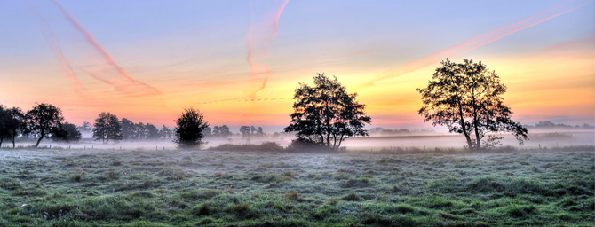 Sonnenaufgang Ostfriesland