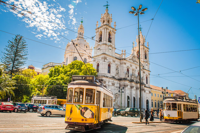 Straßenbahn Linie 28 Lissabon