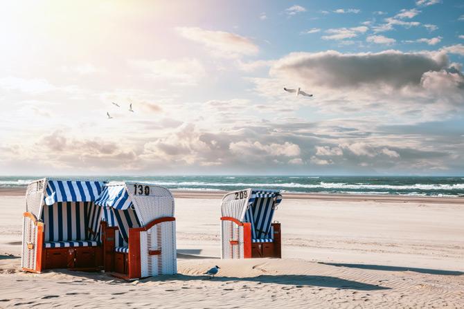Strandkorb Ostfriesland