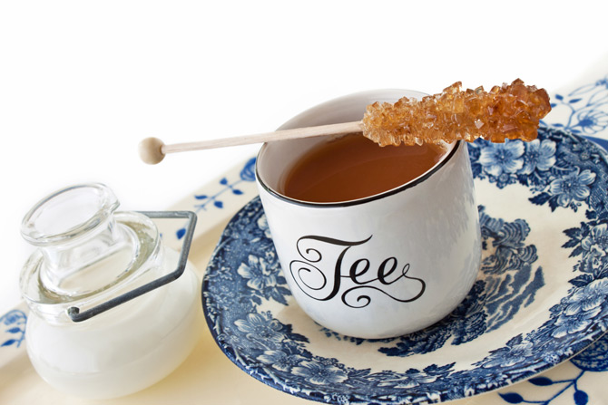 Typischer Tee in Ostfriesland