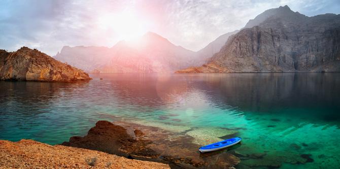 Oman; Berge und Fjorde