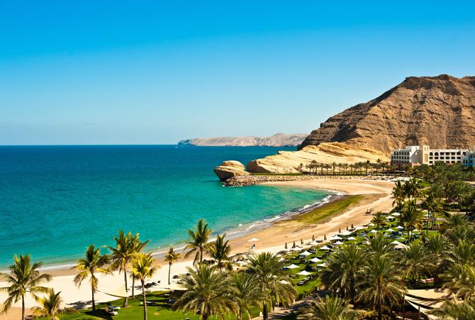 Die Küste vom Oman