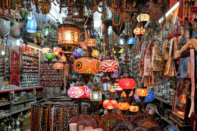 Markt im Oman