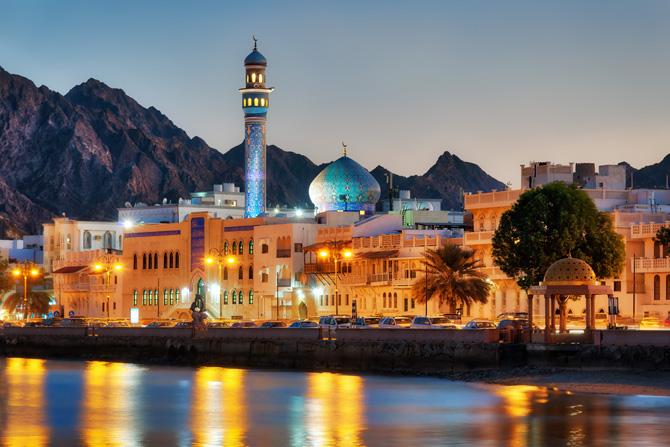 Muttrah Corniche Muscat