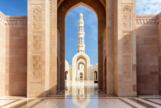 Oman; Sultan Qaboos Grand Mosque