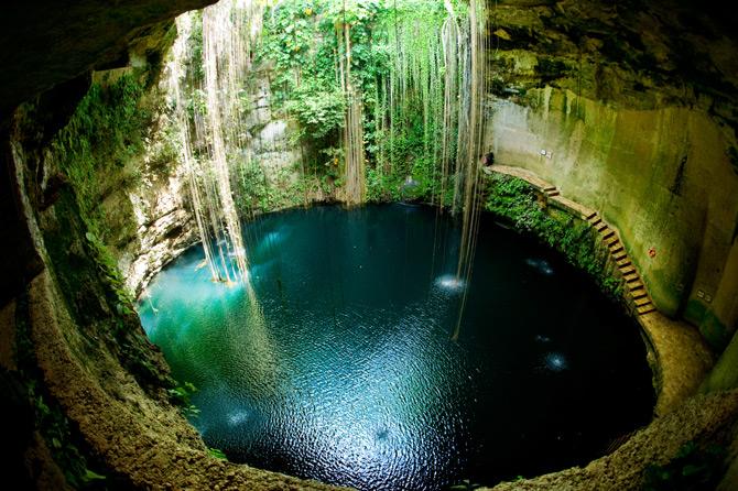 Cenote Ik Kil, Mexiko