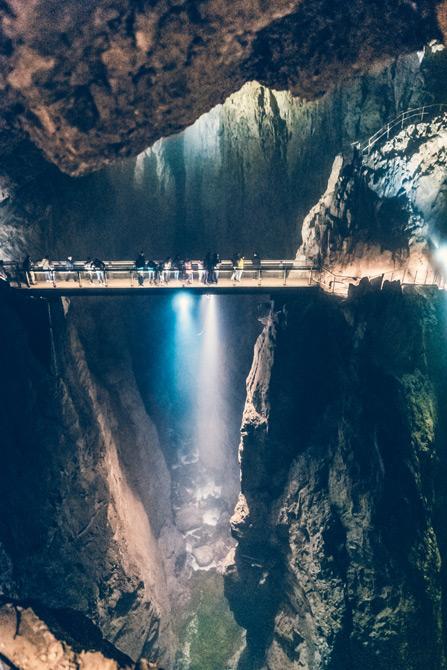 Höhlen von Skocjan, Slowenien