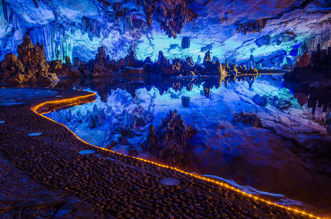 Reed Flute Cave / Ludi Yan Höhle, China