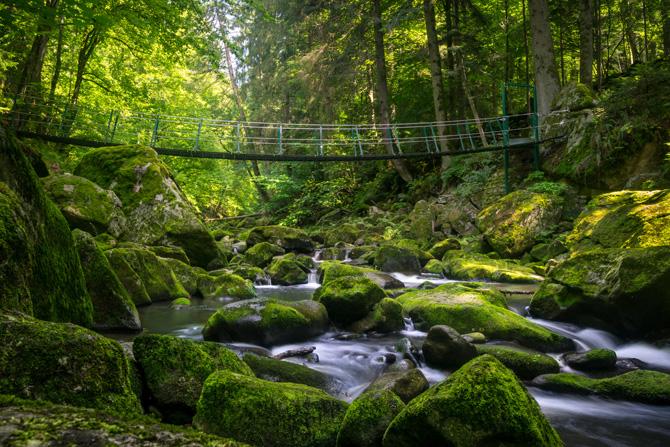 Bayerischer Wald Buchberger Leite Wildbachklamm