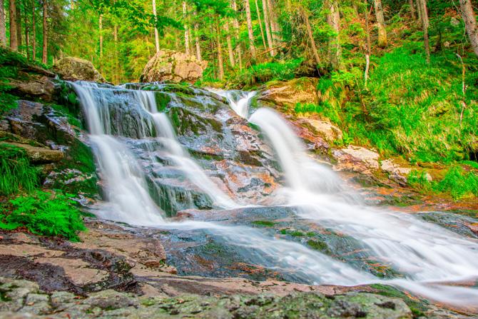 Bayerischer Wald Rißlochwasserfälle