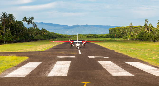 Fidschi-Inseln Anreise
