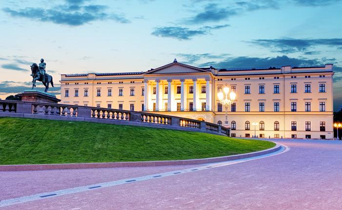 Das königliche Schloss Oslo