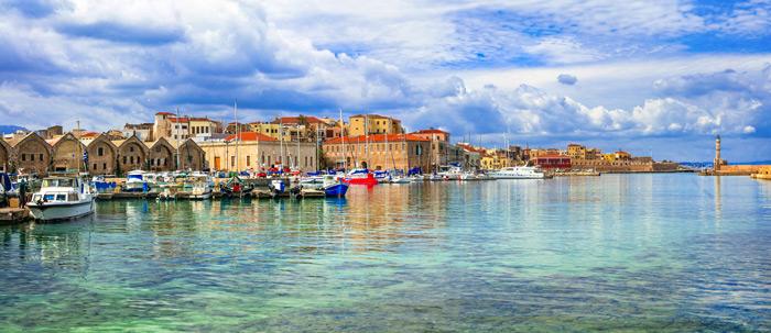 Chania mit dem venezianischen Hafen