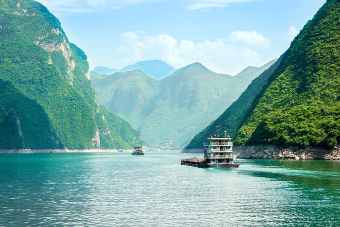 Die längsten Flüsse der Welt: Jangtsekiang