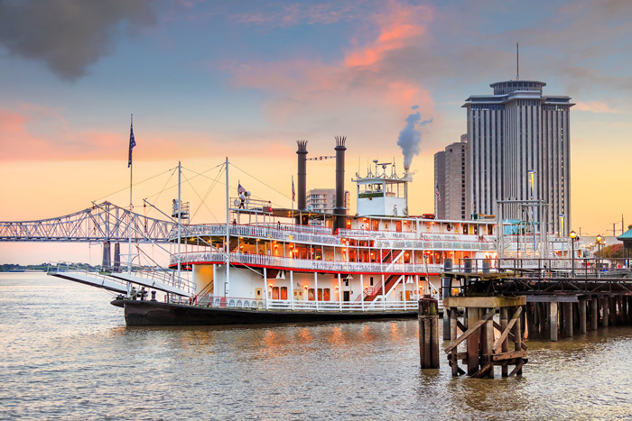 Mississippi Damfer in New Orleans