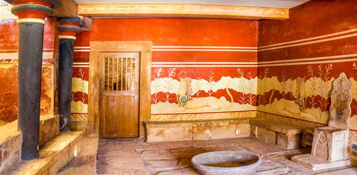 Thronzimmer Knossos